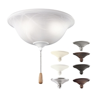 Picture for category Kichler 338506MUL Accessory Ceiling Fans 11in 3-light