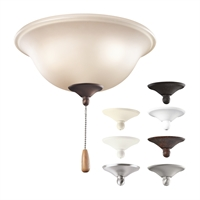 Picture for category Kichler 338508MUL Accessory Ceiling Fans 11in 3-light