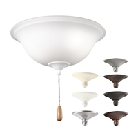 Picture for category Kichler 338509MUL Accessory Ceiling Fans 11in 3-light