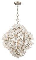 Picture for category Corbett 211-46 Lily Pendants Enchanted Silver Lea Hand Crafted Iron 6-light