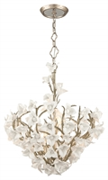 Picture for category Corbett 211-47 Lily Pendants Enchanted Silver Lea Hand Crafted Iron 6-light