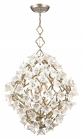 Picture for category Corbett 211-48 Lily Pendants Enchanted Silver Lea Hand Crafted Iron 8-light