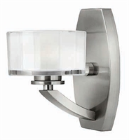 Picture for category Hinkley 5590BN-LED Meridian Bath Lighting 5in Nickel Tones Metal 1-light