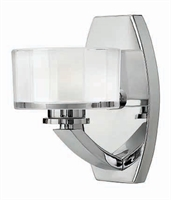Picture for category Hinkley 5590CM-LED Meridian Bath Lighting 5in Chromes Tones Metal 1-light