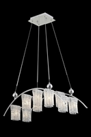 Picture for category Elegant 2085D31C/EC Vivid Chandeliers 13in Chrome 10-light