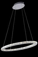 Picture for category Elegant 2061D34C/RC Atom Chandeliers 14in Chrome 24-light