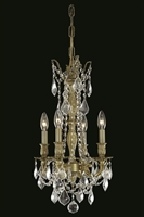 Picture for category Elegant 9204D10AB/SS Rosalia Pendants 10in Antique Bronze 4-light