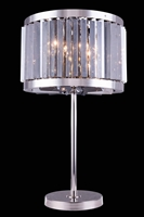 Picture for category Elegant 1203TL18PN-SS/RC Chelsea Table Lamps 18in Polished nickel 4-light