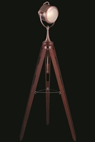 Picture for category Elegant FL1202 Ansel Tripod Table Lamps 12in Brown 1-light