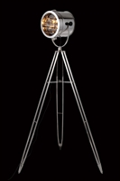 Picture for category Elegant FL1203 Ansel Tripod Table Lamps 10in Chrome 1-light
