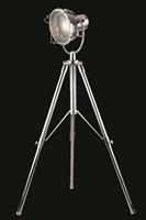 Picture for category Elegant FL1206 Ansel Tripod Table Lamps 18in Chrome 1-light