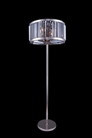 Picture for category Elegant 1203FL25PN-SS/RC Chelsea Table Lamps 25in Polished nickel 6-light
