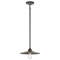 Picture for category Kichler 49587OZ Westington Outdoor Pendant 12in Bronze Tones ALUMINUM 1-light