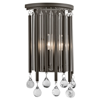 Picture for category Kichler 43727ESP Piper Wall Sconces 8in Espresso STEEL 2-light