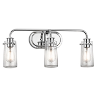 Picture for category Kichler 45459CH Chn Bath Lighting 24in Bath_bracket NULL 3-light