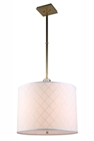 Picture for category Elegant 1445D22BB Gemma Pendants 22in Brass Tones 2-light