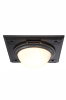 Picture for category Elegant 1446F12BZ Cilla Flush Mounts 13in Bronze Tones 2-light
