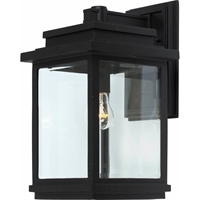 Picture for category Artcraft AC8390BK Transitional Outdoor Lighting Lamps 9in Black Cast Aluminum