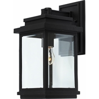 Picture for category Artcraft AC8290BK Transitional Outdoor Lighting Lamps 7in Black Cast Aluminum
