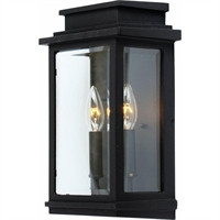 Picture for category Artcraft AC8391BK Transitional Outdoor Lighting Lamps 7in Black Cast Aluminum