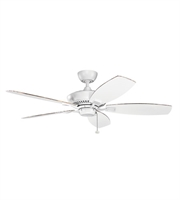 Picture for category Kichler 300117MWH Canfield Ceiling Fans White