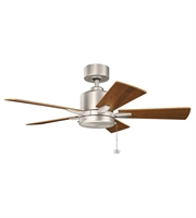 Picture for category Kichler 330241NI Bowen Ceiling Fans Nickel Tones