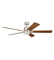 Picture for category Kichler 330243NI Bowen Ceiling Fans Nickel Tones