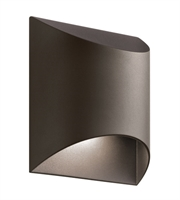 Picture for category Kichler 49278AZTLED Wesly Outdoor Wall Sconces Bronze Tones