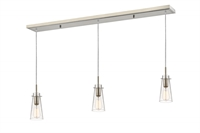 Picture for category Z-Lite 132MP-3BN Monte Island Lighting 5in Nickel Tones Steel 3-light