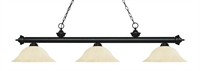Picture for category Z-Lite 200-3MB-GM16 Riviera Matte Black Island Lighting 16in Black Tones Steel