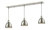 Picture for category Z-Lite 710MP-3BN Mason Island Lighting 8in Nickel Tones Steel 3-light