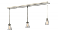 Picture for category Z-Lite 428MP-3BN Annora Island Lighting 6in Nickel Tones Steel 3-light