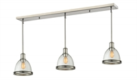 Picture for category Z-Lite 718MP-3BN Mason Island Lighting 8in Nickel Tones Steel 3-light