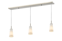 Picture for category Z-Lite 133MP-3BN Monte Island Lighting 5in Nickel Tones Steel 3-light
