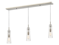 Picture for category Z-Lite 188MP-3BN Monte Island Lighting 5in Nickel Tones Steel 3-light