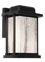 Picture for category Artcraft AC9122BK Addison Outdoor Lighting Lamps 8in Black Cast Aluminum