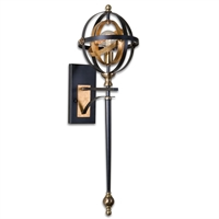 Picture for category Uttermost 22497 Rondure Wall Sconces 12in Metal 1-light
