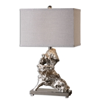 Picture for category Uttermost 26662-1 Rilletta Table Lamps 16in Resin metal fabric 1-light