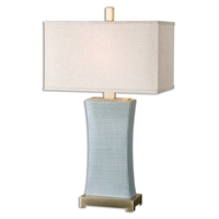 Picture for category Uttermost 26673-1 Cantarana Table Lamps 17in Ceramic metal fabric 1-light