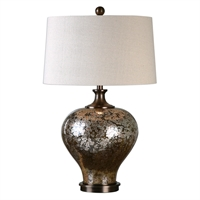 Picture for category Uttermost 27154-1 Liro Table Lamps 19in Glass steel 1-light