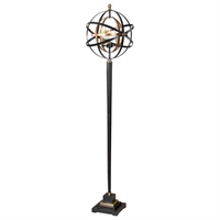 Picture for category Uttermost 28087-1 Rondure Table Lamps 17in Iron 3-light