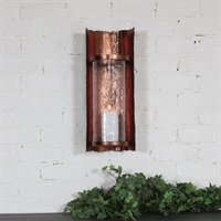 Picture for category Uttermost 20049 Goffredo Wall Sconces 9in Iron glass