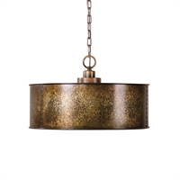 Picture for category Uttermost 22066 Wolcott Pendants 20in Metal 3-light