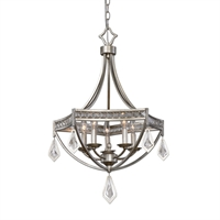 Picture for category Uttermost 22081 Tamworth Pendants 22in Iron k9 crystal 5-light