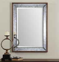 Picture for category Uttermost 14487 Daria Mirrors 27in Pinewood mirror mdf