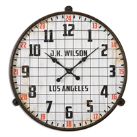 Picture for category Uttermost 06424 Max Clock 32in Metal mdf