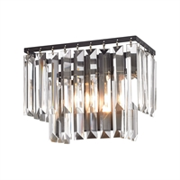Picture for category Elk 15220/1 Palacial Vanity Lighting 10in Bronze Tones Metal Crystal 1-light