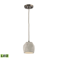 Picture for category Elk 45330/1-LED Urban Form Pendants 5in Black Tones Concrete Metal 1-light
