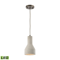 Picture for category Elk 45331/1-LED Urban Form Pendants 6in Black Tones Concrete Metal 1-light