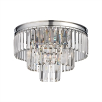 Picture for category Elk 15215/3 Palacial Semi Flush 19in Chromes Tones Metal Crystal 3-light